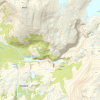 Topographic Map of area surrounding Hellemobotn, Norway (from Kartverket Norway)