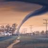 Artist's rendition of a tornado destroying a structure. Source: NOAA via unsplash